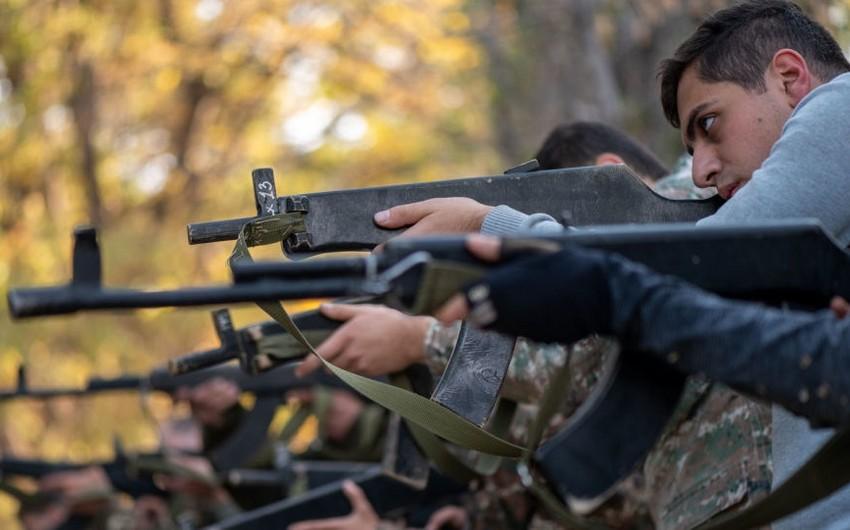 Ermənistanda terrorçuların orduya cəlb olunması üçün qanun qəbul edilib