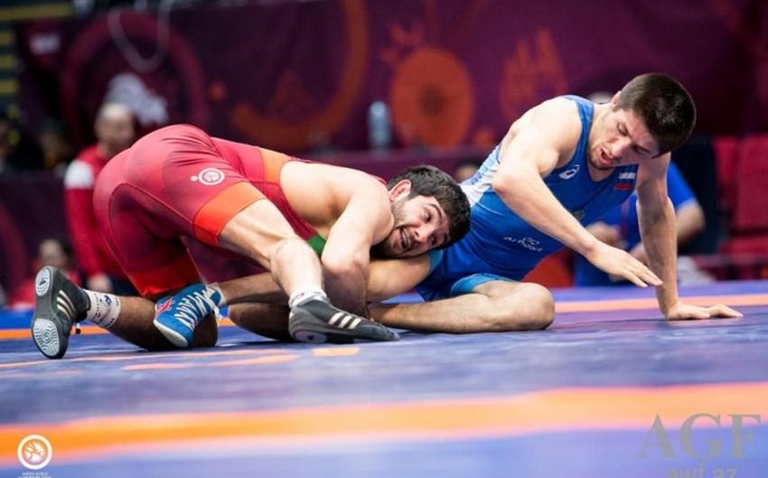 Güləşçilərimiz Avropa çempionatında 2 qızıl, 1 gümüş və 2 bürünc medal qazanıb