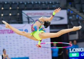 Azərbaycan bədii gimnastika üzrə Avropa çempionatında daha 1 medal qazandı