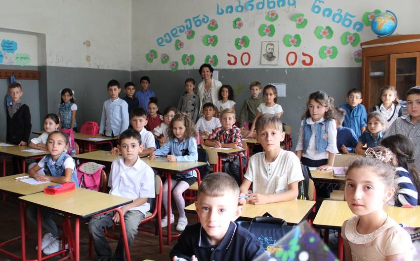 Gürcüstanın azərbaycandilli məktəbi koronavirusa görə bağlanıb