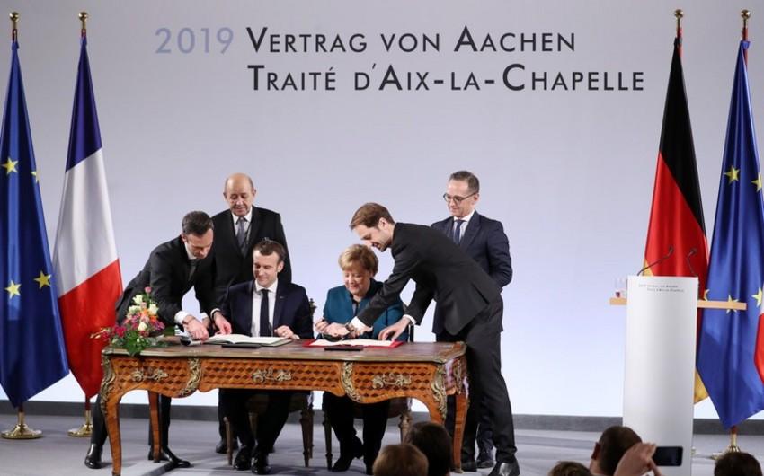 Almaniya-Fransa müqaviləsi - NATO-ya alternativ, ABŞ-a xəbərdarlıq - ŞƏRH