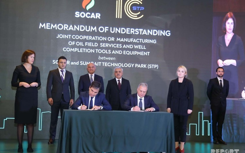 "SOCAR and ""Baker Hughes"" sign several documents"