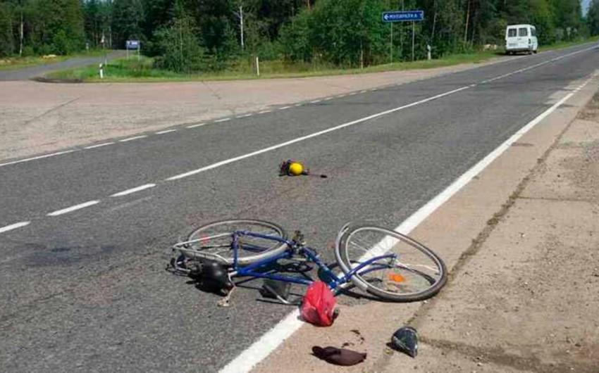 Səbaildə  39 yaşlı kişi velosipeddən yıxılaraq ağır xəsarət alıb