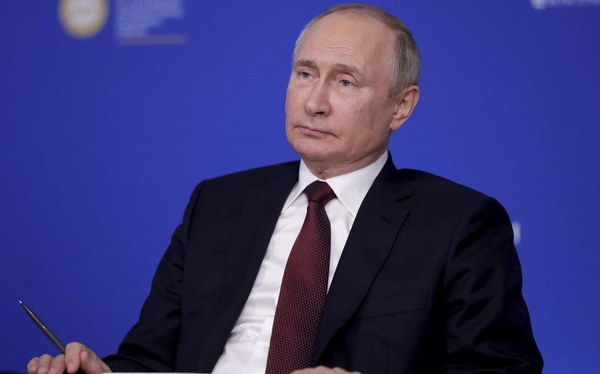Putin discusses situation in Afghanistan at Security Council meeting