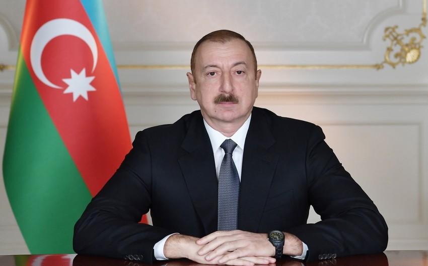 Azərbaycan Prezidentiəfqanıstanlı həmkarına məktub göndərib