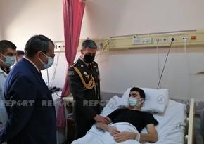 Лечение азербайджанских гази успешно продолжается в стамбульской больнице