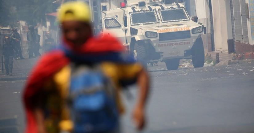 Kolumbiyada etirazlar zamanı 548 nəfər itkin düşüb