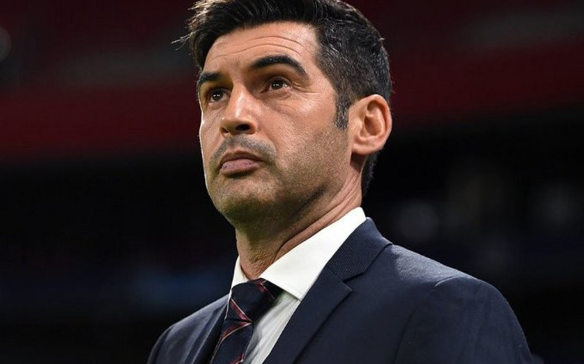 Паулу Фонсека стал главным тренером Ромы
