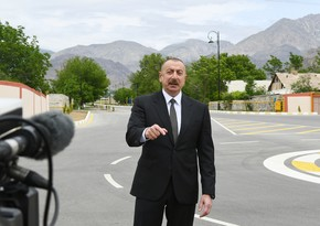 Ilham Aliyev warns Armenia: Don't play with fire, fist is in place