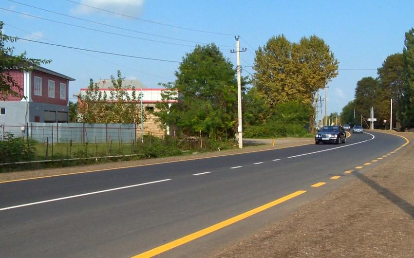 Lənkəranda ümumi istifadədə olan 38 km yol yenidən qurulub