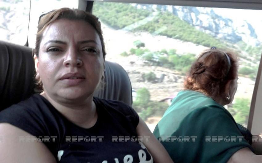 Жительница Шуши: Я так счастлива, будто мне снова 15 лет