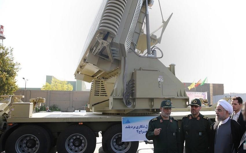 İran yeni zenit-raket kompleksini təqdim edib