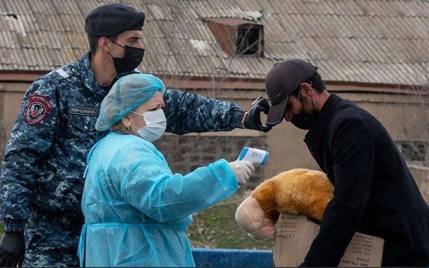 Ermənistanda koronavirus qurbanlarının sayı artdı - YENİLƏNİB
