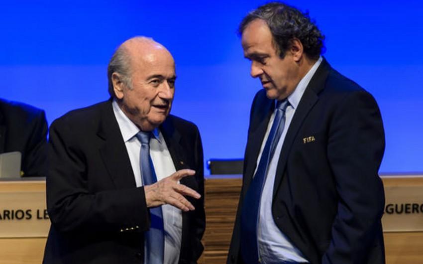 Platini Blatterdən 2 milyon frank aldığını təsdiqləyib