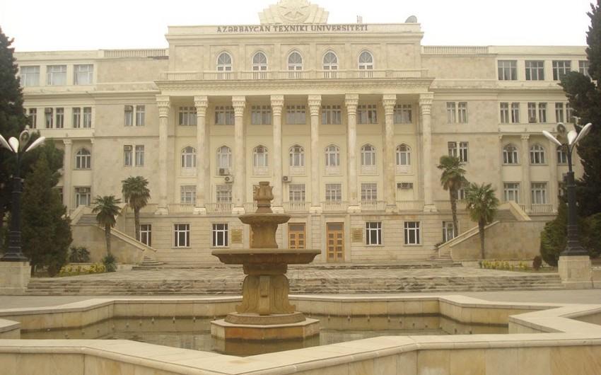 Azərbaycan Texniki Universitetində kafedraların sayı azaldılıb