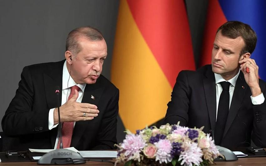 Эрдоган рассказал Макрону о целях военной операции в Сирии