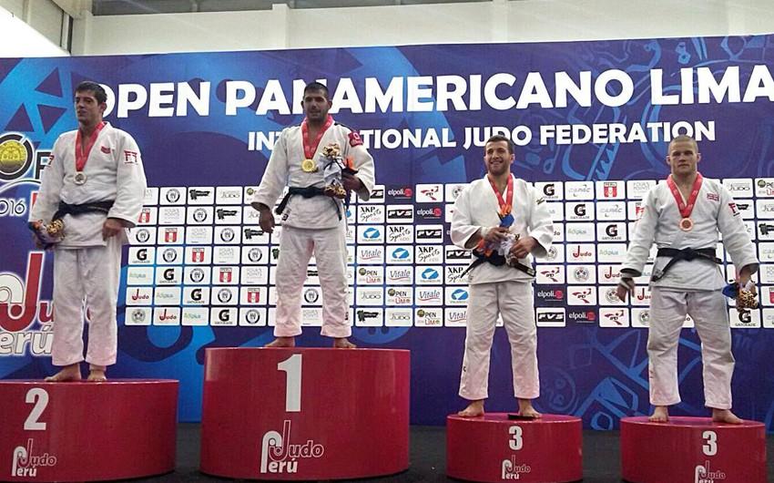Azərbaycan cüdoçuları Peruda 1 qızıl, 3 bürünc medal qazanıb