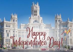 Azerbaijani Foreign Ministry congratulates Spain on National Day