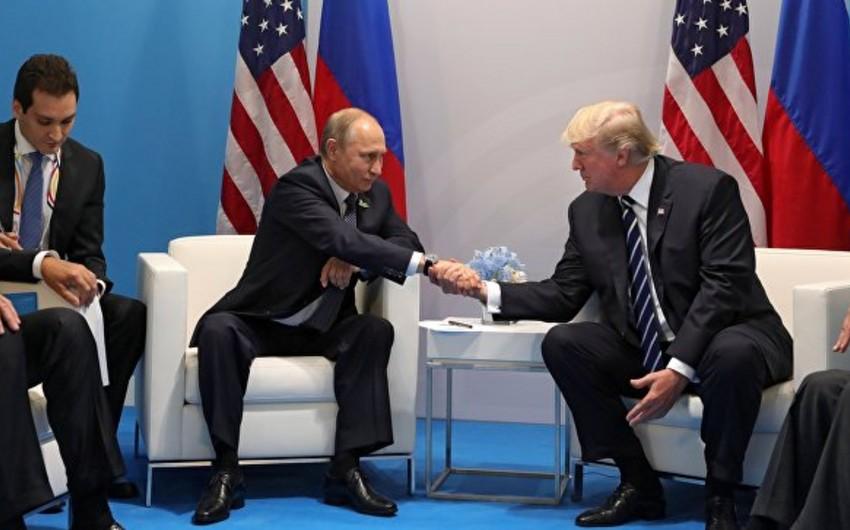 Vladimir Putin və Donald Tramp arasında keçirilən görüş başa çatıb