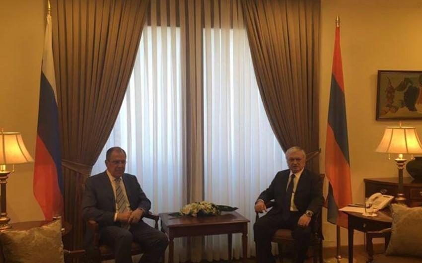 Глава МИД России находится с визитом в Армении