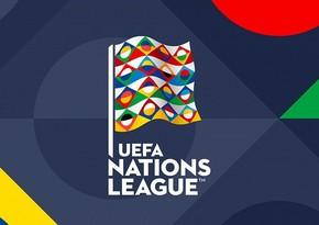 UEFA Millətlər Liqası: Bu gün daha 8 oyun keçiriləcək