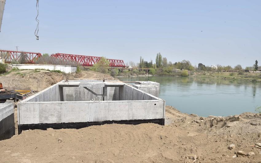 Yevlax şəhərinin içməli su təchizatı infrastrukturu yenidən qurulur