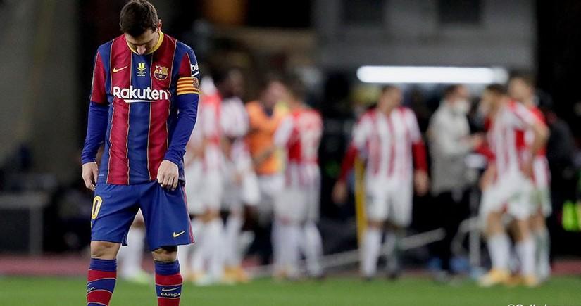 Messi qovuldu, Atletik İspaniya Super Kubokunu qazandı