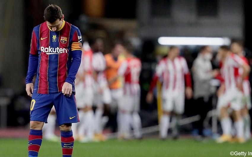 Messi 7 matçdır Reala qol vura bilmir
