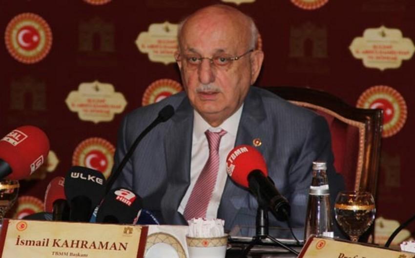Türkiyə parlamentinin binasında yeni sığınacaq tikiləcək