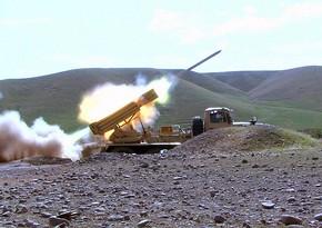 Komandan: Artilleriya qoşunları düşmənin 380-dən çox artilleriya vasitəsini məhv edib