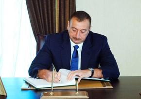 Azerbaijani President sends letter to Iran's supreme leader