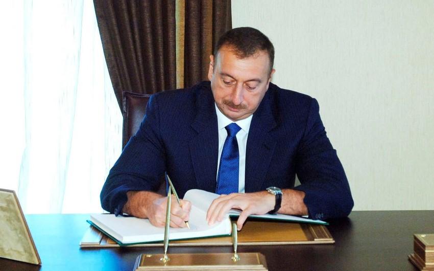 Azərbaycan prezidenti İran ali rəhbərinə məktub yazıb