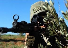 Türkiyə ordusu Suriyada terrorçuları zərərsizləşdirdi