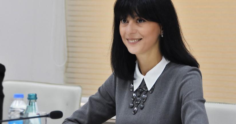 Госминистр Грузии встретилась с азербайджанцами