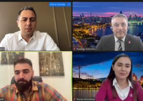 Azərbaycanın film destinasiya kimi potensialı haqqında vebinar keçirilib