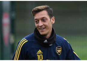 Mesut Özil elected as fighting legionnaire of year