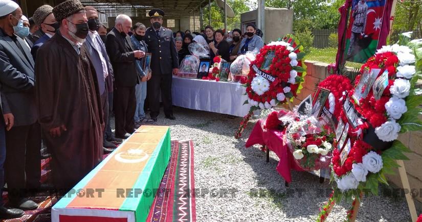 Azərbaycan Ordusunun şəhid əsgəri dəfn edilib  - YENİLƏNİB