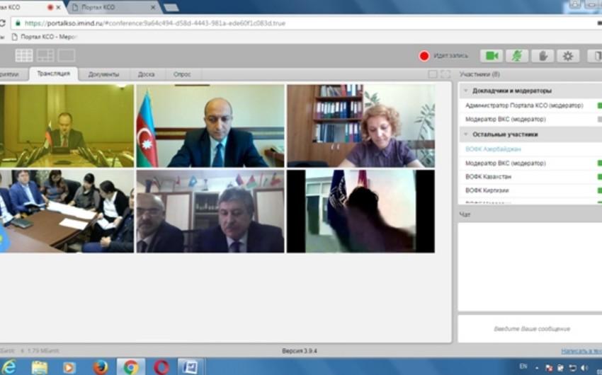 Hesablama Palatası beynəlxalq videokonfransda iştirak edib