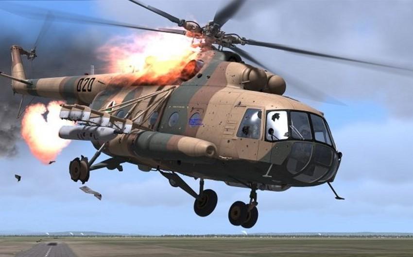 Afrində Türkiyəyə məxsus hərbi helikopter vurulub, hər iki pilot şəhid olub - YENİLƏNİB