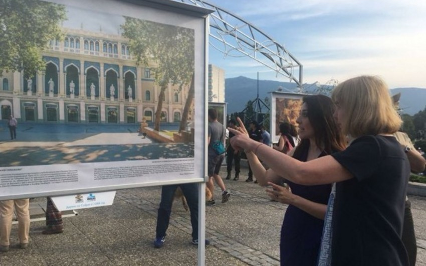 Photo exhibition Baku  Harmony between Ancient and Modern opens in Varna
