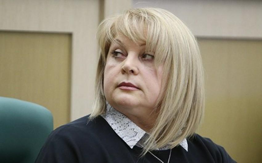 Rusiya Mərkəzi Seçki Komissiyasının sədri hücuma məruz qalıb