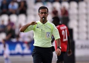 Azerbaijani referee appointed to European Games