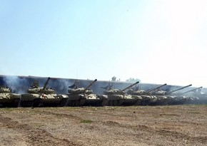 Tank units of Azerbaijani Army fulfill assigned tasks