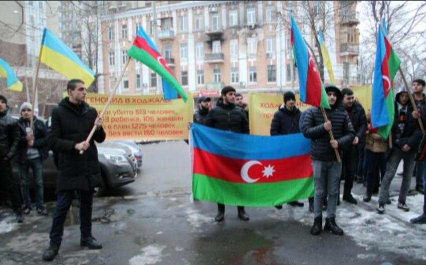 Ukraynada Xocalı soyqırımı ilə bağlı yeni kütləvi kampaniyaya start verilib