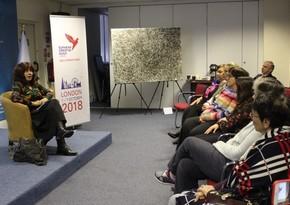 English version of Leyla Aliyeva's book of poems presented in London