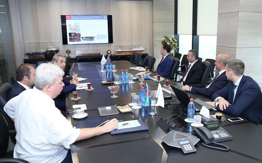 Azerbaijan Caspian Shipping Company hosts Russian shipbuilding corporation