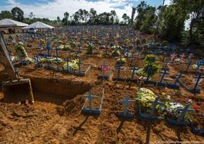 Braziliyada pandemiyadan ölənlərin sayı 150 mini ötdü