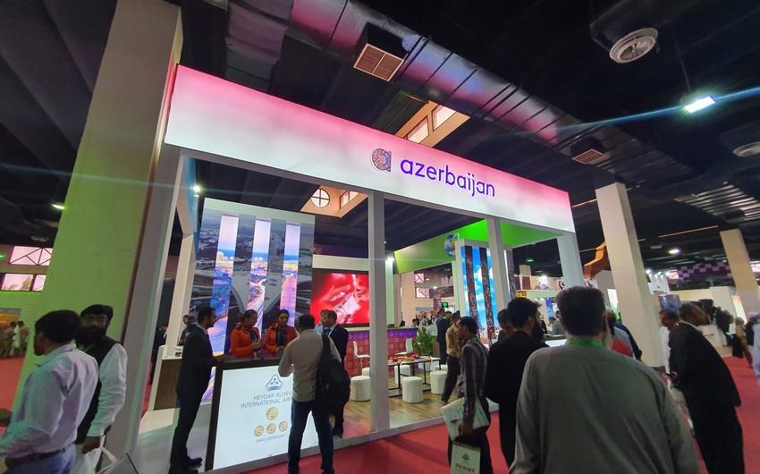 Туристический потенциал Азербайджана представлен на выставке в Пакистане