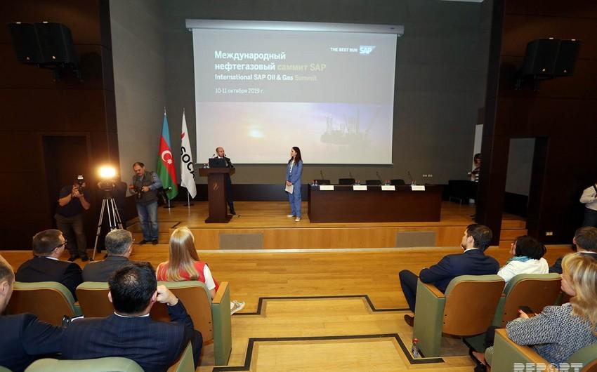 Bakıda SAP Energy forumu işə başlayıb - FOTO
