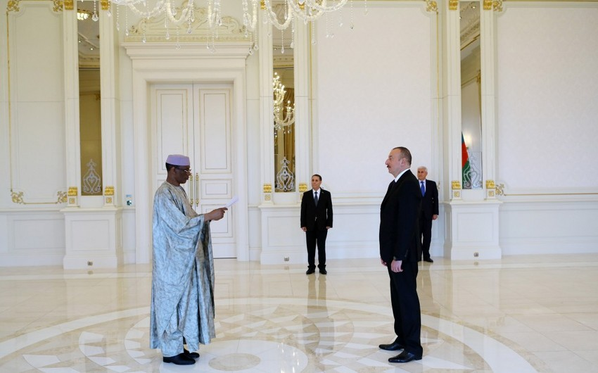 President Ilham Aliyev receives credentials of incoming Malian Ambassador